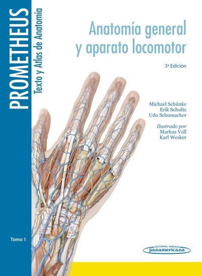 Tercera  edición de la colección Prometheus: Texto y Atlas de Anatomía.