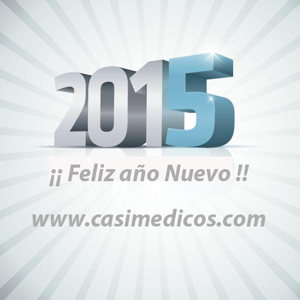 casiMedicos os desea un Feliz Año Nuevo 2015