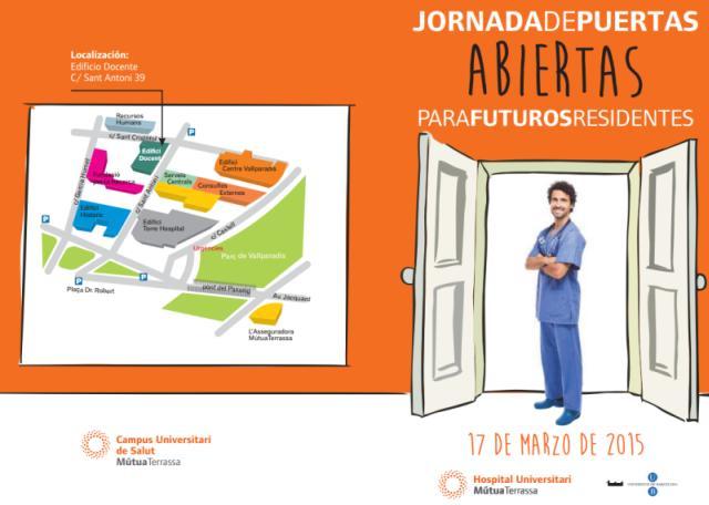 Jornada Puertas Abiertas para futuros MIR en Hospital Universitario MutuaTerrassa 2015