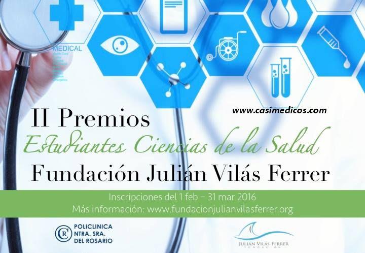 Premios Fundación Julián Vilás Ferrer para estudiantes de Ciencias de la Salud 2016
