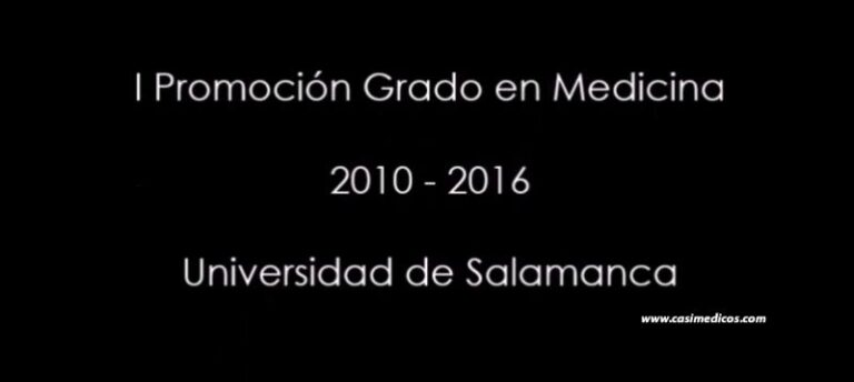 Graduación Medicina Salamanca Promoción 2010-2016