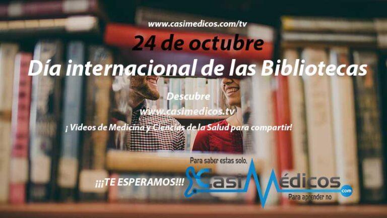 24 de octubre: Día de la Biblioteca