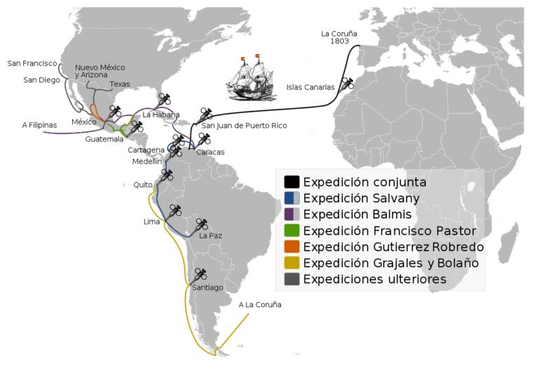 Conoce la Expedición Balmis para la vacuna preventiva contra la viruela