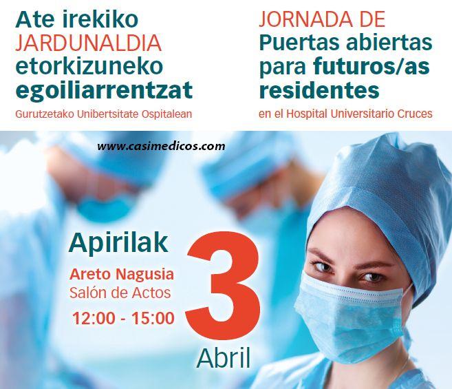 Hospital Universitario Cruces. Jornada de Puertas abiertas 2017