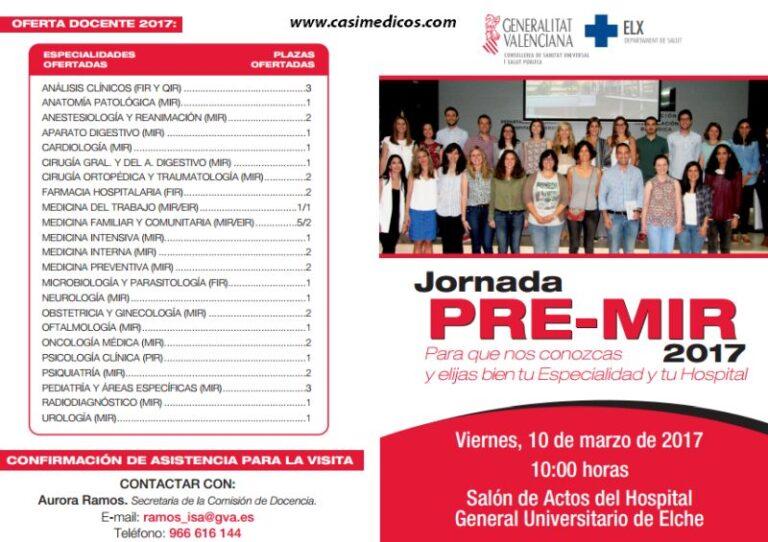 Hospital General Universitario de Elche. Jornada de Puertas Abiertas 2017