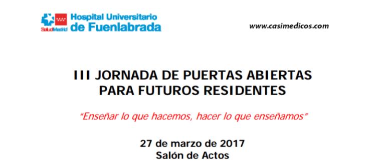 Hospital Universitario de Fuenlabrada. III Jornada de Puertas Abiertas
