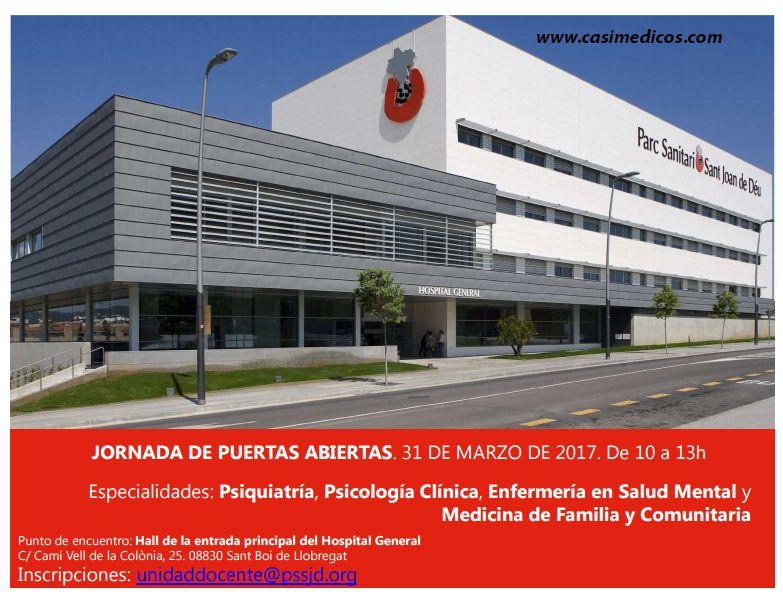 Parc Sanitari Sant Joan De Deu Jornada Residentes 2017 Casimedicos