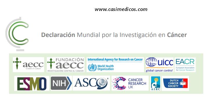 Firma y súmate a la Declaración Mundial por la Investigación en Cáncer