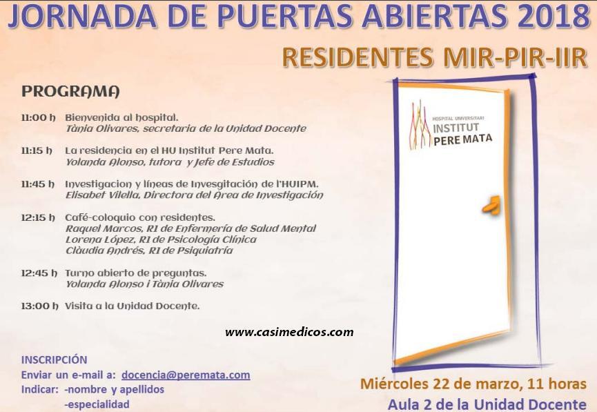 Jornadas de puertas abiertas en el Hospital Universitari Institut Pere Mata de Reus @ Institut Pere Mata | Reus | Catalunya | Spain