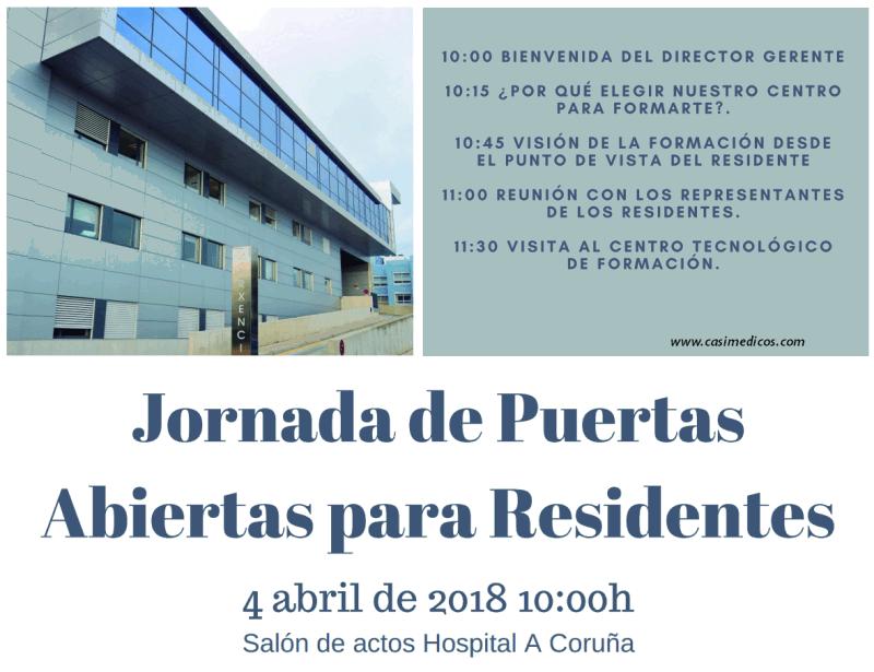 Programa de Puertas Abiertas Xerencia de Xestión Integrada de A Coruña @ Hospital Universitario A Coruña | A Coruña | Galicia | Spain