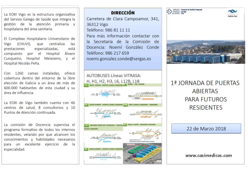 Jornada de puertas abiertas C.H Universitario de Vigo - EOXI Vigo @ Hospital Álvaro Cunqueiro   Vigo   Galicia   Spain