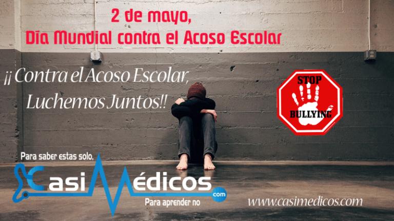 2 de mayo, Día Mundial contra el Acoso Escolar