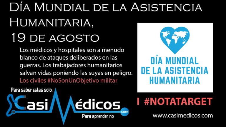 Día Mundial de la Asistencia Humanitaria, 19 de agosto
