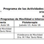 3. Servicios de la ULPGC: Programas de Movilidad e Intercambio.