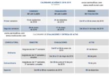 CALENDARIO ACADÉMICO 2018-2019 Grados ULPGC