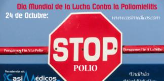 24 de Octubre: Día Mundial de la Lucha Contra la Poliomielitis