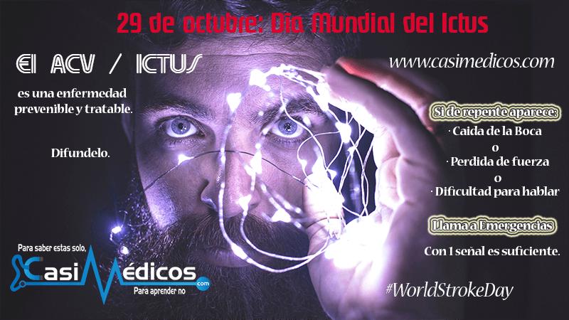 29 de octubre: Día Mundial del Ictus
