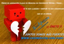 Error en asignación plazas en Medicina en Universitat Rovira i Virgili