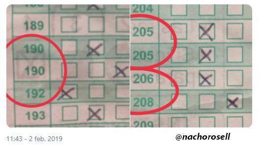 Errores en las plantillas de los examenes MIR 2018-2019