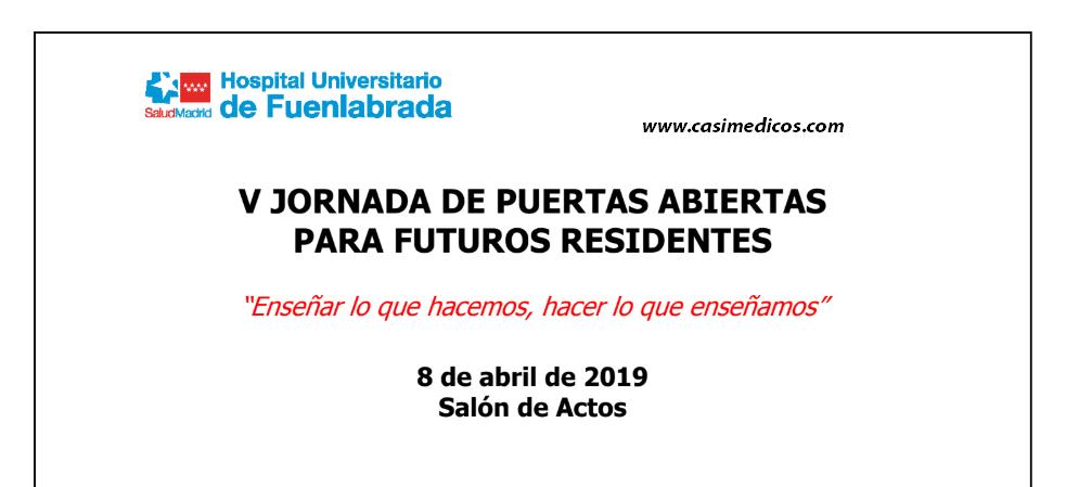 Jornada de puertas abiertas 2019 Fuenlabrada, mesas