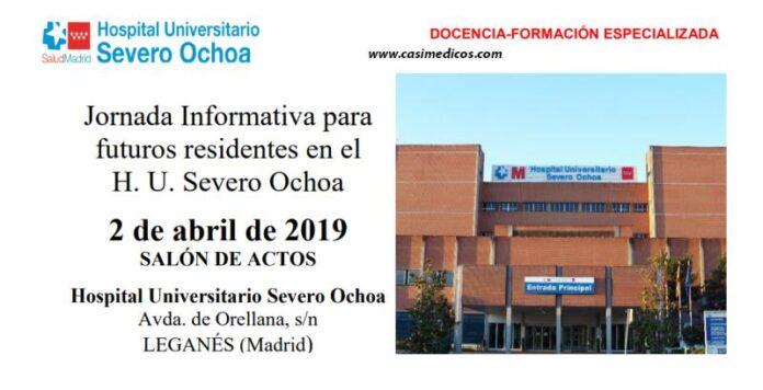 Jornada Informativa para futuros residentes en el H. U. Severo Ochoa 2019