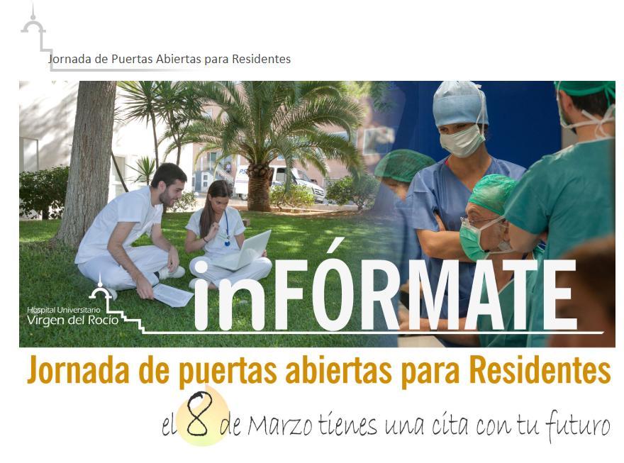 Jornada de Puertas Abiertas para Residentes Virgen del Rocío 2019