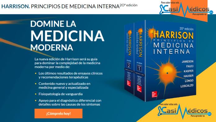 HARRISON. PRINCIPIOS DE MEDICINA INTERNA 2Oª edición: primeras impresiones