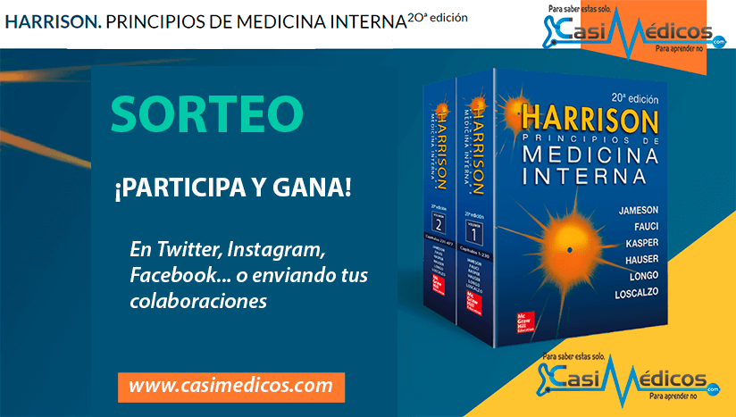 Sorteamos un HARRISON. PRINCIPIOS DE MEDICINA INTERNA 2Oª edición ⚡️