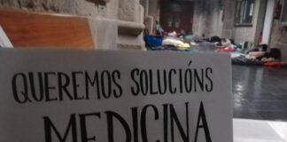 Impresiones tras la huelga de Medicina de la USC | Foto: AsembleaMed
