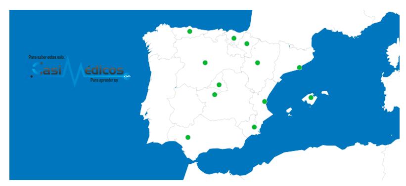 Jornadas por localidades