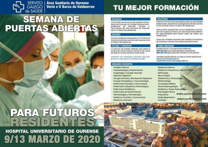 Ourense Semana de puertas abiertas 2020