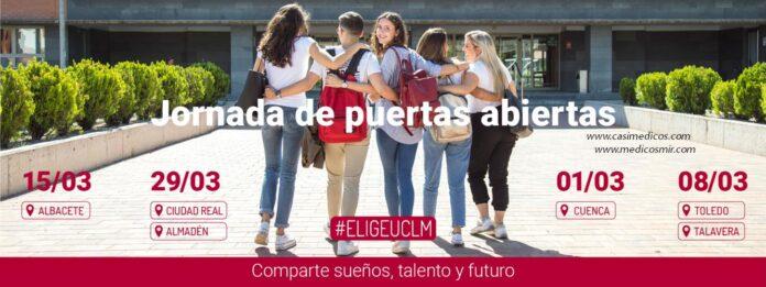 Universidad de Castilla-La Mancha Puertas Abiertas 2020