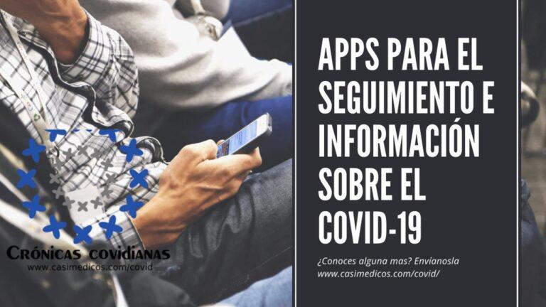Apps para el seguimiento e información sobre el Covid-19
