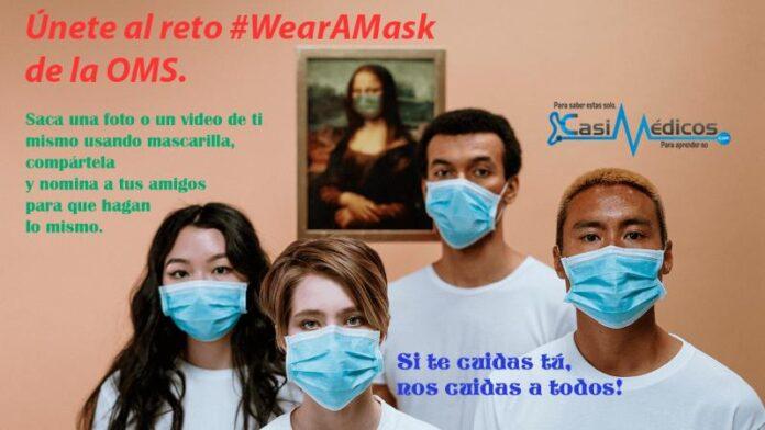 Únete al reto #WearAMask de la OMS. Usa mascarilla. Encaratulate | Foto de cottonbro
