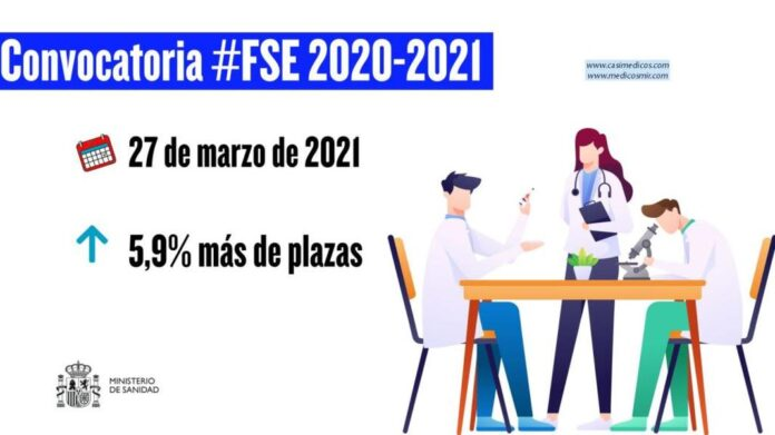 El Ministerio de Sanidad y las CCAA aprueban un incremento del 5,9% de las plazas de formación sanitaria especializada para 2020/21