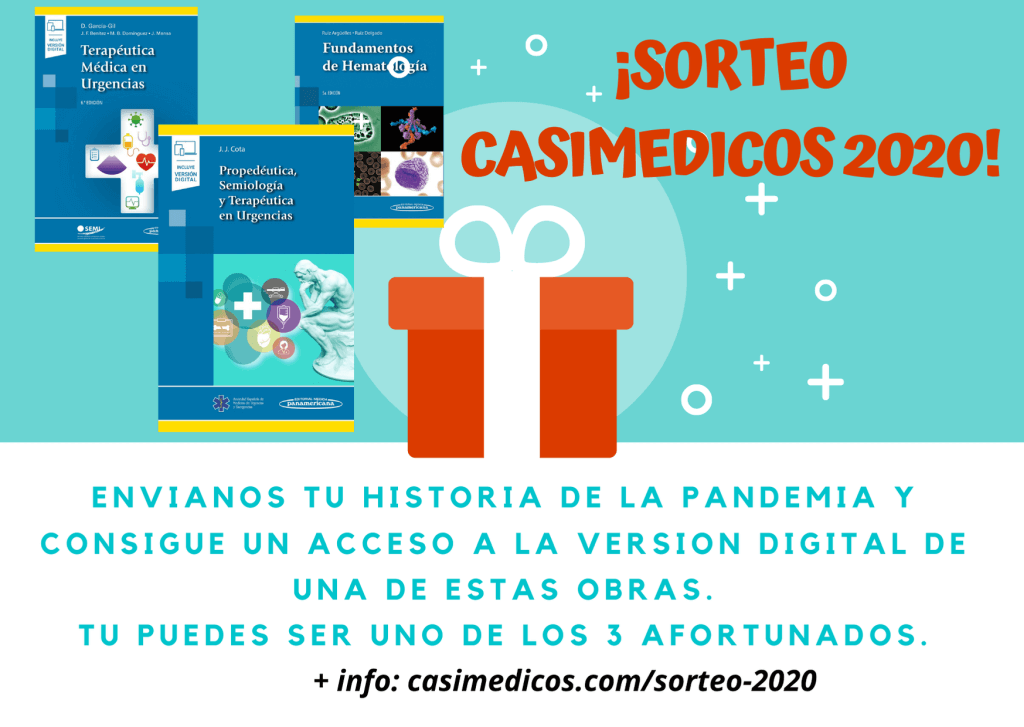 Sorteo casiMedicos 2020 - cuéntanos tu historia de la pandemia