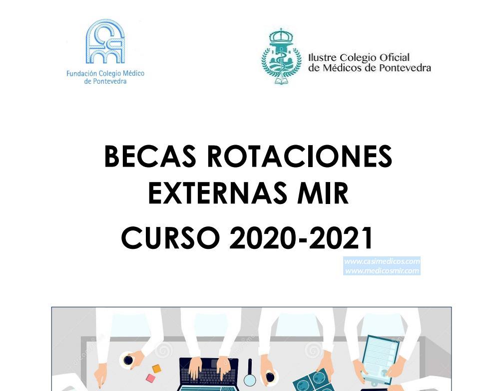 II Becas Rotaciones Externas MIR Fundación Colegio Médico de Pontevedra