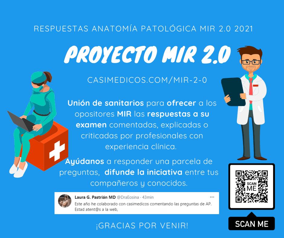 Respuestas comentadas a las preguntas de Anatomía patológica del examen MIR 2021