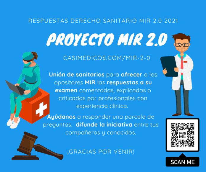 Respuestas comentadas a las preguntas de Derecho Sanitario del examen MIR 2021