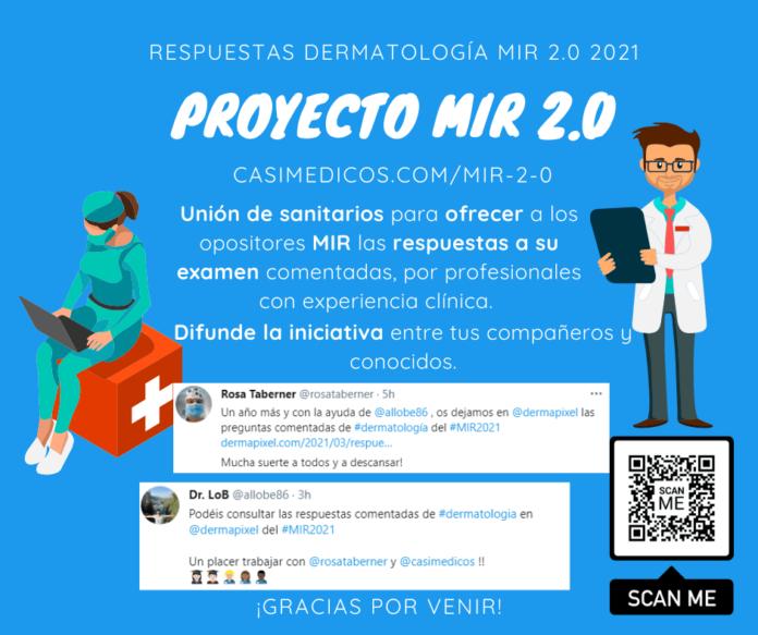 Respuestas comentadas a las preguntas de Dermatología del examen MIR 2021