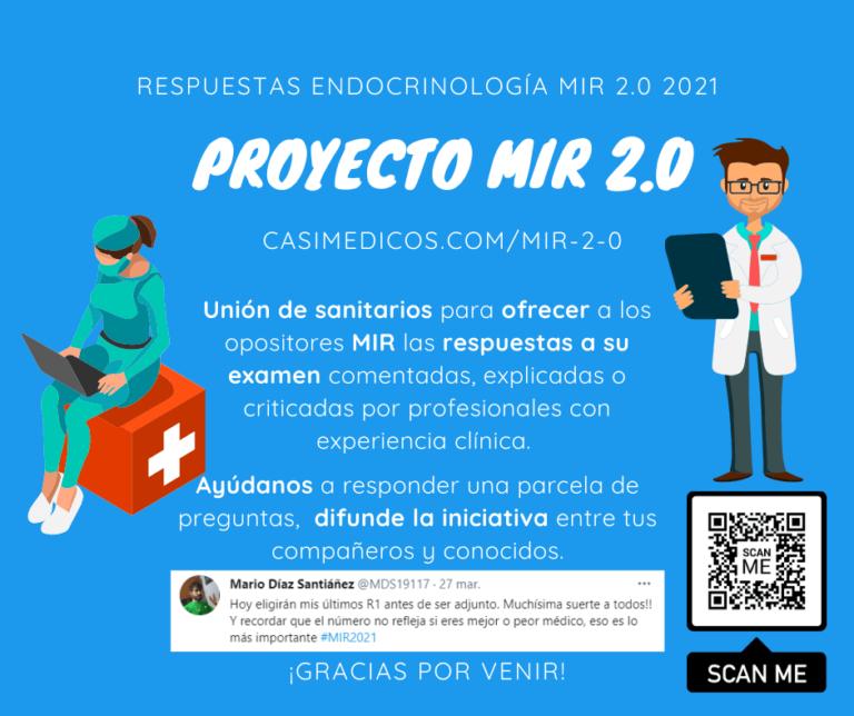 Respuestas comentadas a las preguntas de Endocrinología del examen MIR 2021