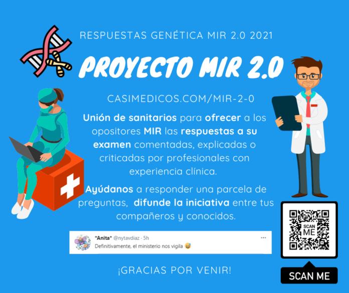 Respuestas comentadas a las preguntas de Genética del examen MIR 2021