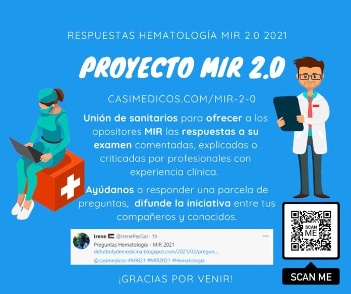 Respuestas comentadas a las preguntas de Hematología del examen MIR 2021