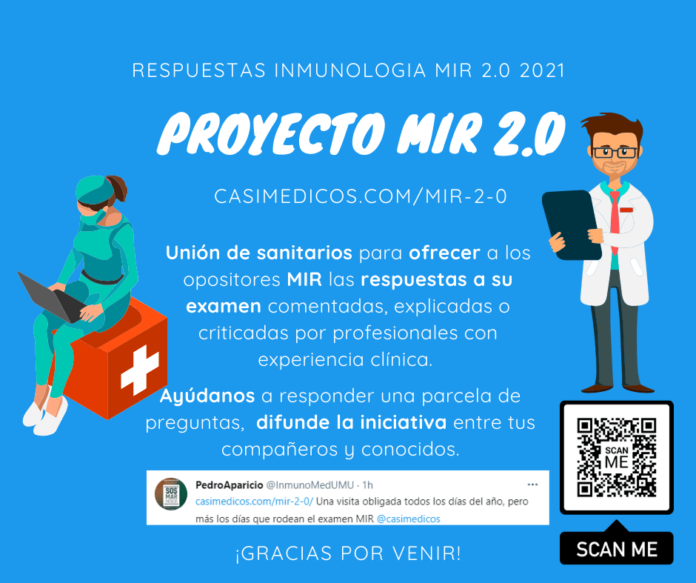 Respuestas comentadas a las preguntas de Inmunología del examen MIR 2021