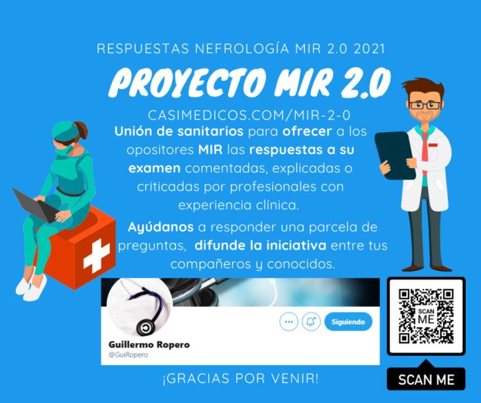 Respuestas comentadas a las preguntas de Nefrología del examen MIR 2021
