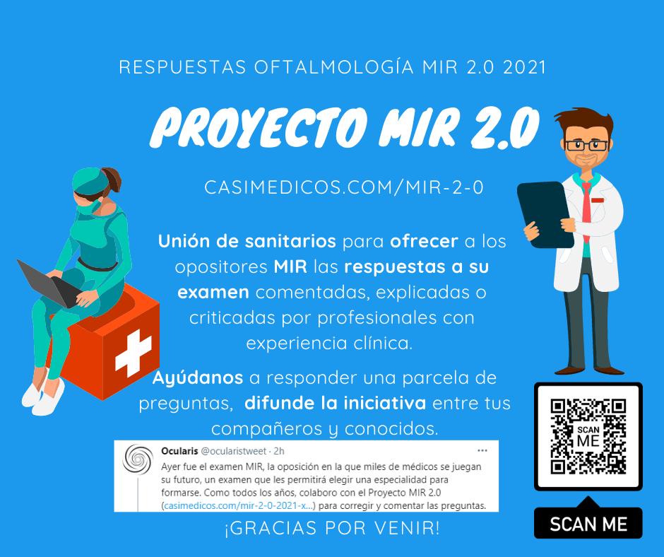 Respuestas comentadas a las preguntas de Oftalmología del examen MIR 2021