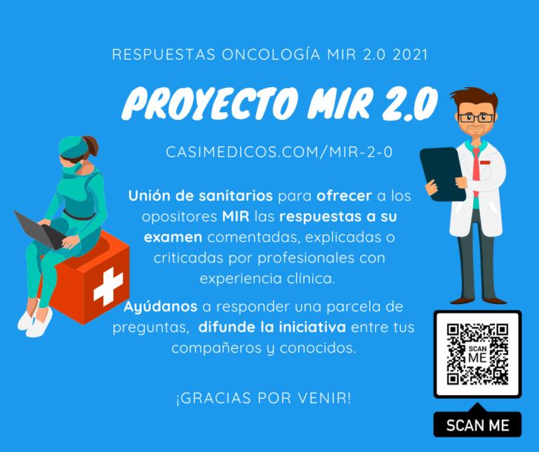 Respuestas comentadas a las preguntas de Oncología del examen MIR 2021