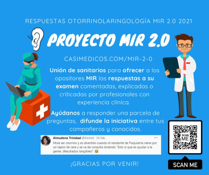 Respuestas comentadas a las preguntas de Otorrinolaringología del examen MIR 2021