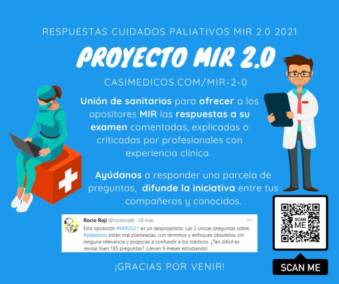 Respuestas comentadas a las preguntas de Cuidados paliativos del examen MIR 2021