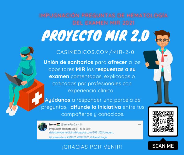 Impugnaciones a las respuestas de Hematología, MIR 2021